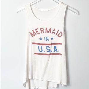 "Gaze ""Mermaid in U.S.A."" Tank"